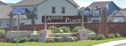 Ashers Place Subdivision Entrance